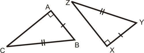 SLT 28 SSA and AA are not sufficient criteria to prove triangles congruent.