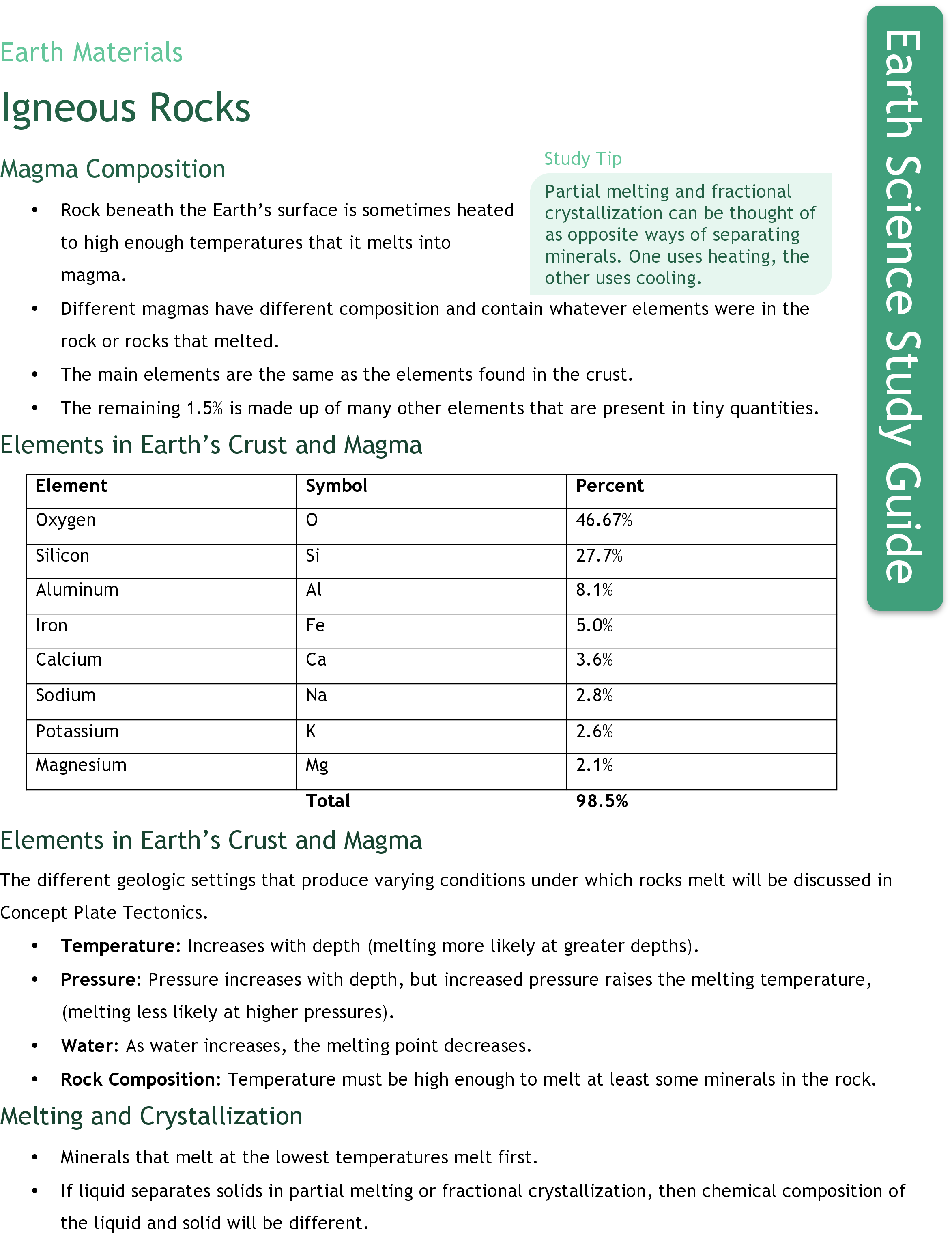 worksheet Igneous Rocks Worksheet igneous rocks ck 12 foundation study guide