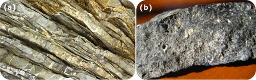 Regional metamorphic rocks display foliation, which can result in blueschist