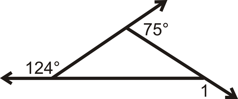 Exterior angles theorems read geometry ck 12 - Which of the following are exterior angles ...