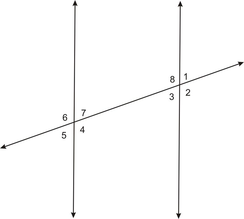 Parallel Lines And Transversals Identifying Angle Pairs Part 2
