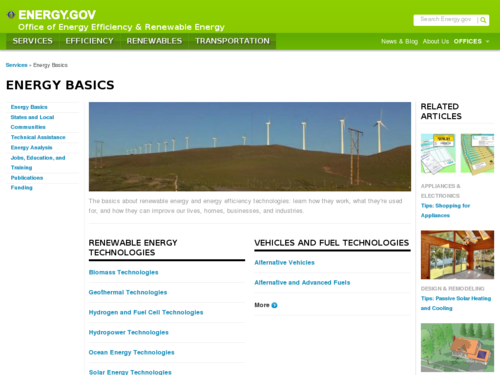 Energy Basics: Wind Power