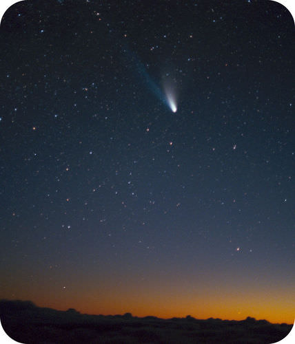 Comet Hale-Bopp, also called the Great Comet of 1997