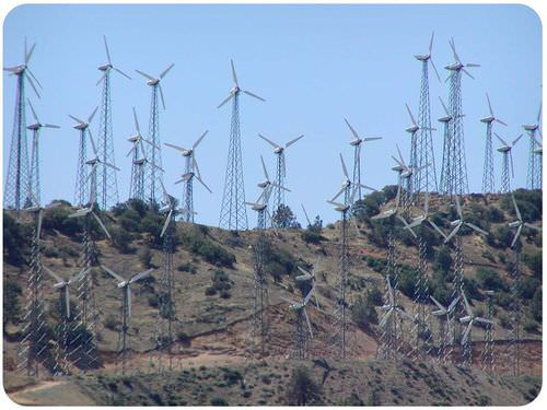 Tehachapi wind farm