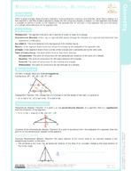 Bisectors, Medians, Altitudes Study Guide