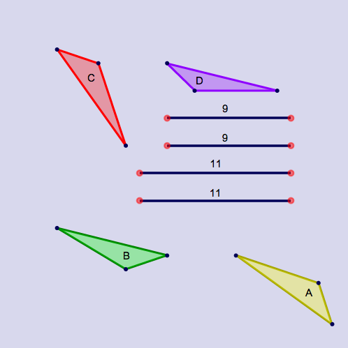 SSS Triangle Congruence: Congruence Conundrum