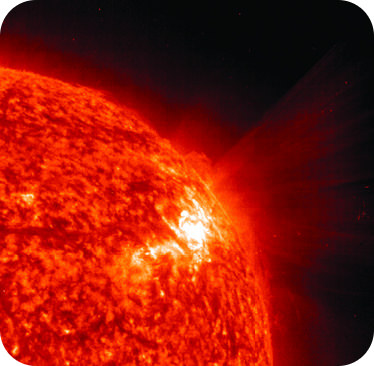The sun is powered at nuclear fusion