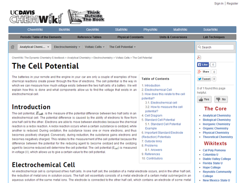 Review and Practice Questions on Cell Potential