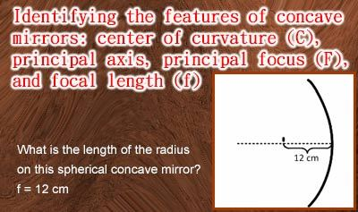 Geometric Optics 2: Concave Mirrors - Example 1