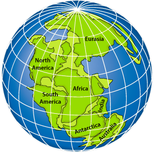 Nature of science read chemistry ck 12 foundation this map shows the supercontinent pangaea which was first proposed by alfred wegener pangaea included all of the separate continents we know today gumiabroncs Choice Image