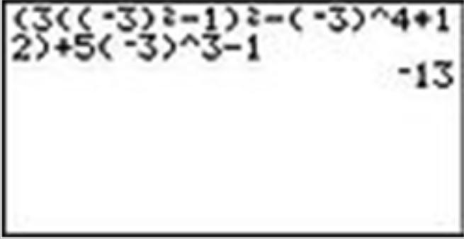Calculator Use with Algebra Expressions ( Read ) | Algebra