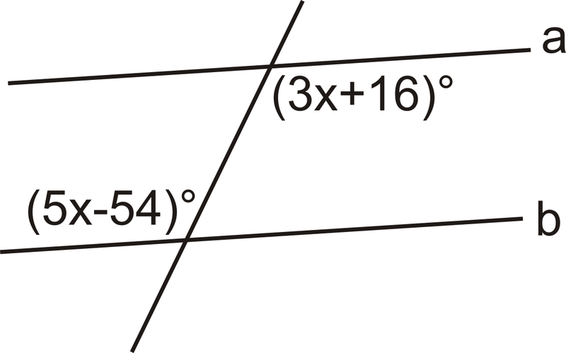 Because These Are Alternate Interior Angles, They Must Be Equal For .