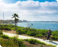 A sunny day in San Diego, California