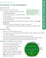 Circulation in the Atmosphere Study Guide