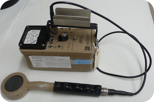 Geiger counters are used to detect radiation