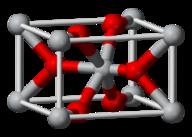 Lattice structure for titanium chloride