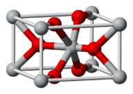 Lattice structure for titanium chloride