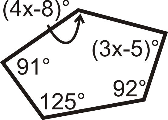 Algebra Connection For Questions 14 26 Find The Measure Of The Missing Variable S