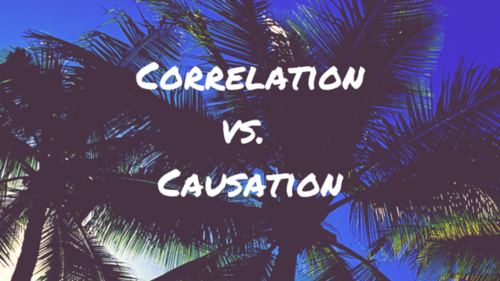 Linear Correlation (Correlation vs. Causation).