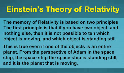 Albert Einstein's Theory of Relativity