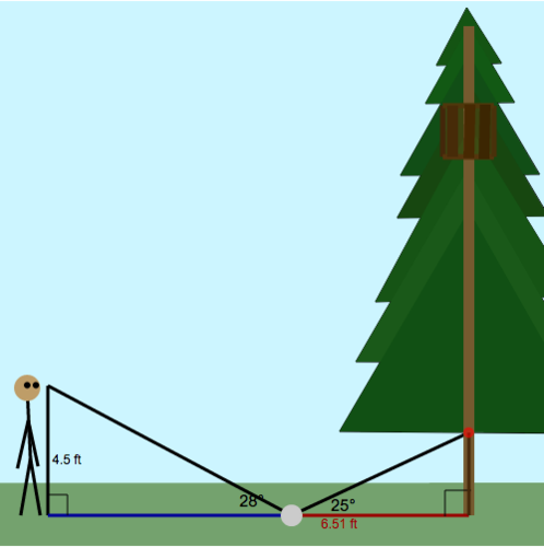Indirect Measurement: Treehouse Height