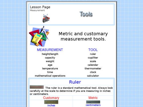 Choosing Appropriate Measurement Tools