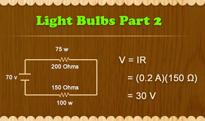 Light Bulbs Part 2