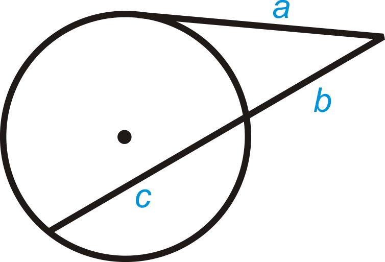 Tangent Secant Theorem ( Read ) | Geometry | CK-12 Foundation