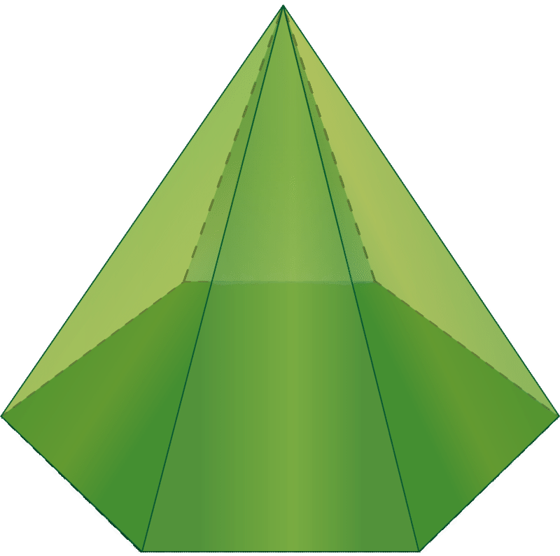 what is a 3d pentagon shape called