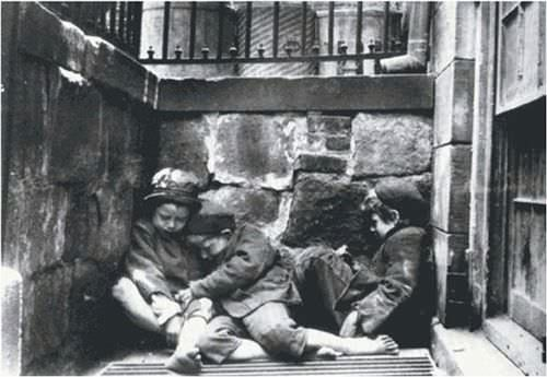"""Street Arabs in Sleeping Quarters."""