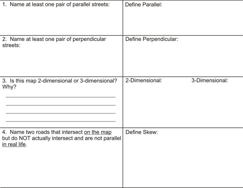 Printables Parallel And Perpendicular Lines Worksheet Answer Key parallel perpendicular and skew lines ck 12 foundation presentation goal to identify lines