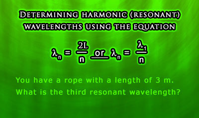 Harmonics 1: Standing Waves in Vibrating Strings - Example 3