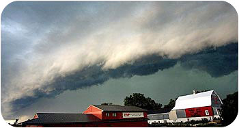 Picture of a squall line