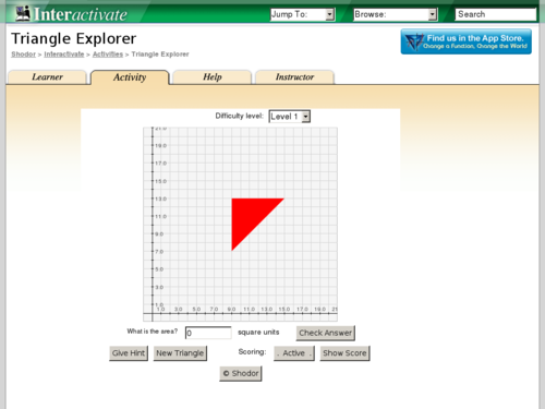 Triangle Explorer