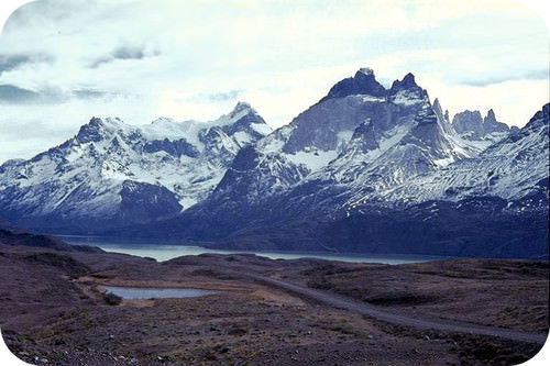 The Andes Mountains formed due to oceanic plate subduction