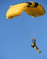 Parachutes work using fluid friction