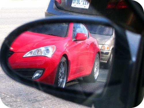 A car rearview mirror is a convex mirror