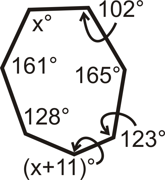 Angles in Polygons – Interior Angles of Polygons Worksheet