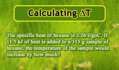 Specific Heat and Heat Capacity - Example 4