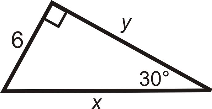 Trigonometry Special Right Triangles a Special Right Triangle