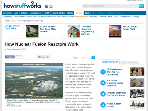 How Nuclear Fusion Reactors Work