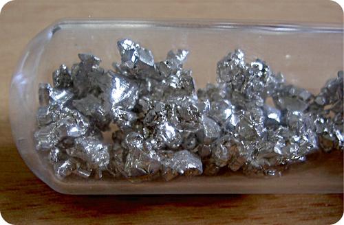 Picture of calcium metal