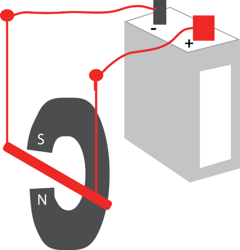 Schematic for a motor prototype