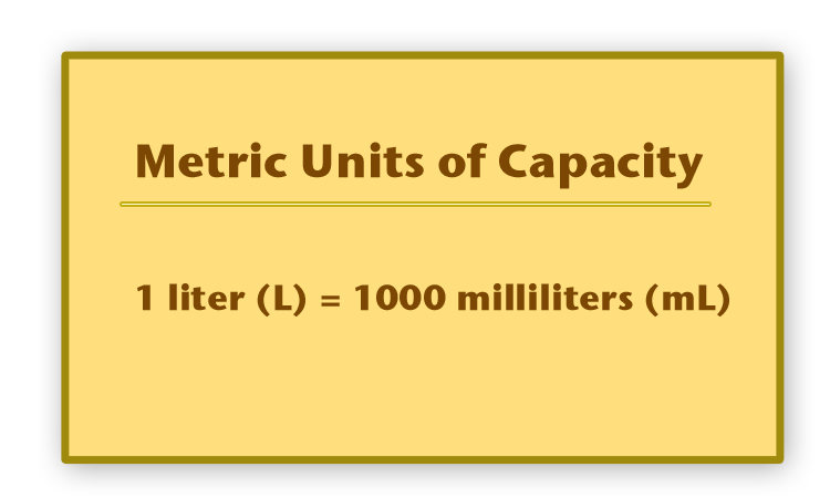 Metric Units of Mass and Capacity | CK-12 Foundation