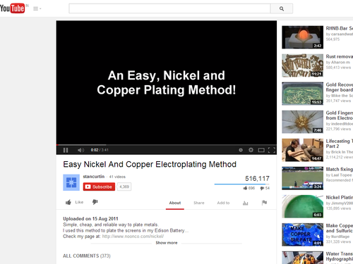 Nickel and Copper Electroplating