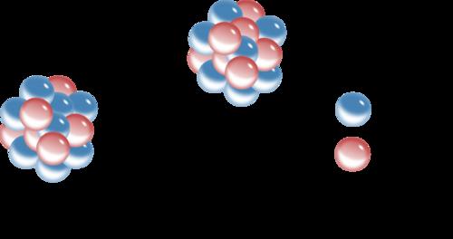 Example of beta emission