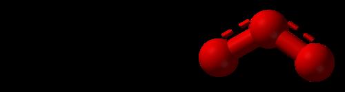 The half bond in an ozone molecule