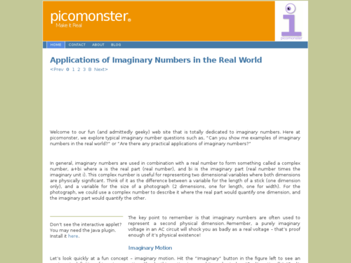 Applications of Imaginary Numbers in the Real World