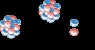 Diagram of Carbon 14 beta decay