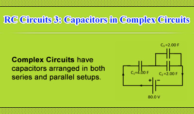 RC Circuits 3: Capacitors in Complex Circuits - Overview
